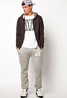 Хлопковые штаны на резинках Stussy №4, фото 1