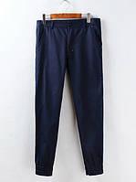 Мужские штаны на резинках с цветным карманом, фото 1