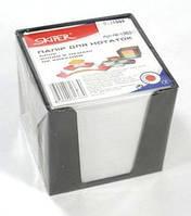 Блок для записей белый 85*85 800листов пластиковый бокс Skiper