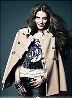 Женские короткое поло пальто
