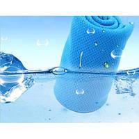 Полотенце охлаждающее для спорта и лета Blue