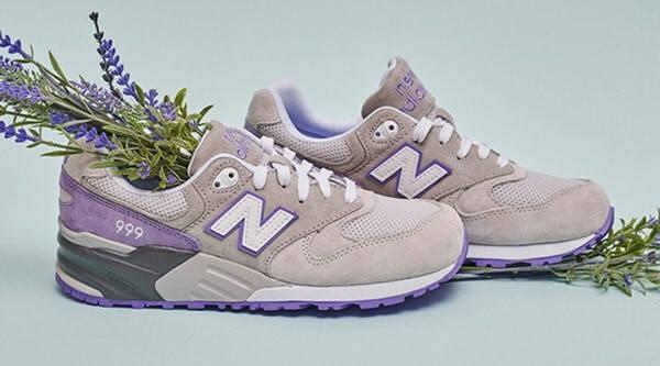 Кроссовки женские в стиле New Balance ML999AA Lavender, фото 2