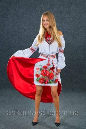d2a84f410ef25d Украинский костюм женский с вышивкой - Студия Art-karnaval в Запорожье