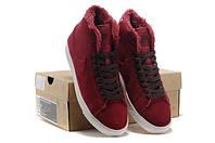 Nike Кроссовки на меху Nike Blazer Winter - замша