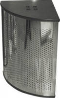 Корзина для мусора c крышкой угловая Arino 60х60х40 (большая)