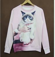 Свитшот Грустный кот