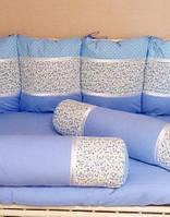 Детский комплект постельного белья с бортиками