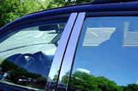 BMW X1 SUV E84 Молдинги дверных стоек Omsa (нерж.) 6 шт.