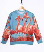 Свитшот Розовый фламинго