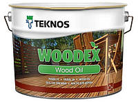 Террасное масло TEKNOS WOODEX WOOD OIL 9л