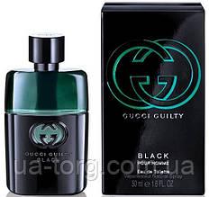 Мужская Туалетная Вода Gucci Guilty Black Pour Homme (Гучи Гилти Блек)