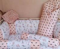 Детский набор постельного белья «Пудели в Париже»