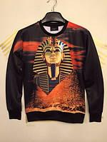 Свитшот с фараоном и пирамидой