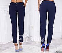 Зауженные женские классические брюки