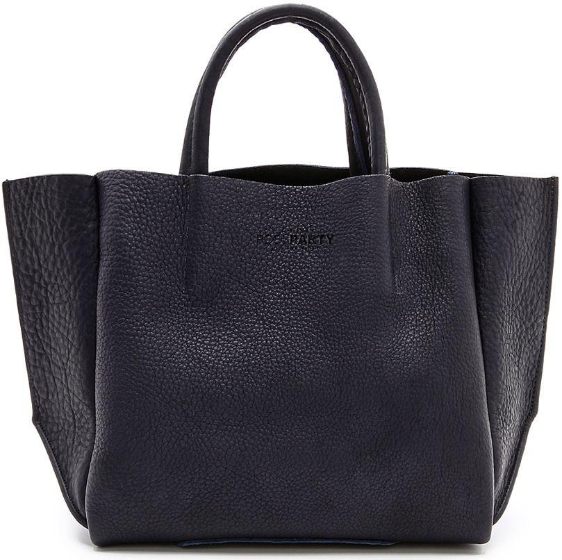 Женская кожаная сумка POOLPARTY SOHO poolparty-soho-black
