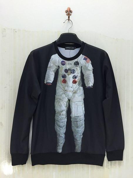 Свитшот Космонавт