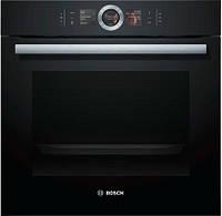 Духовой шкаф с микроволновым режимом Bosch CMG 6764 B1 ( электрическая, 45 л )