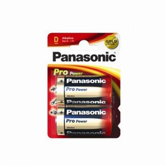 Батарейка Panasonic PRO POWER D BLI 2 ALKALINE