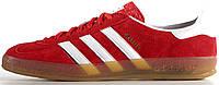 Мужские кроссовки Adidas Gazelle Indoor Red, адидас