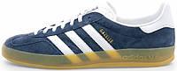 Мужские кроссовки Adidas Gazelle Indoor Dark Blue, адидас
