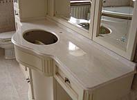Столешница из мрамора для ванной