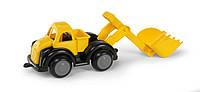 Машина с ковшом черно-желтая, 25 см (31212)