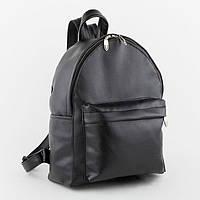 Рюкзак черного цвета, унисекс / городской рюкзак, модный, эко кожа