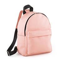 Рюкзак для девочек розового цвета / городской рюкзак, модный, эко кожа