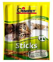 Gimpet (Джимпет) Стикс ягненок+рис, лакомство для кошек, 4 шт