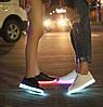 Кроссовки со святящейся LED подошвой