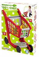 """Детский игровой набор """"Тележка для супермаркета"""" с аксессуарами (001225)"""