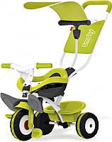 Металлический велосипед Smoby с багажником и козырьком Зеленый 444192 (444192)