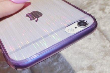 Чехол с переливающем цветом для iPhone 5/5s, 6/6plus