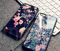 Чехол с цветами для iPhone 5/5s, 6/6plus, фото 1