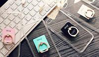 Чехол прозрачный с кольцом для iPhone - iRing, фото 1