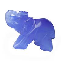 Кошачий глаз, статуэка слоник
