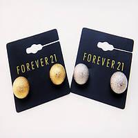 Серьги шарики гвоздики FOREVER21, фото 1