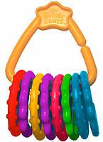 Развивающая игрушка-прорезыватель Цветные кольца, Bright Starts 10228 (10228)
