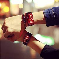 Металлические часы браслет