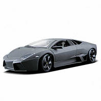 Автомодель - LAMBORGHINI REVENTON (ассорти матовый белый, серый металлик 1:24) (18-21041)