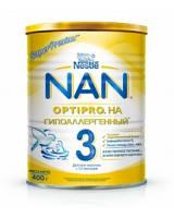 NAN 3 Гипоаллергенный Optipro НА 400гр.