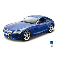 Автомодель - BMW Z4 M COUPE (ассорти белый, синий  металлик,  1:32) (18-43007)
