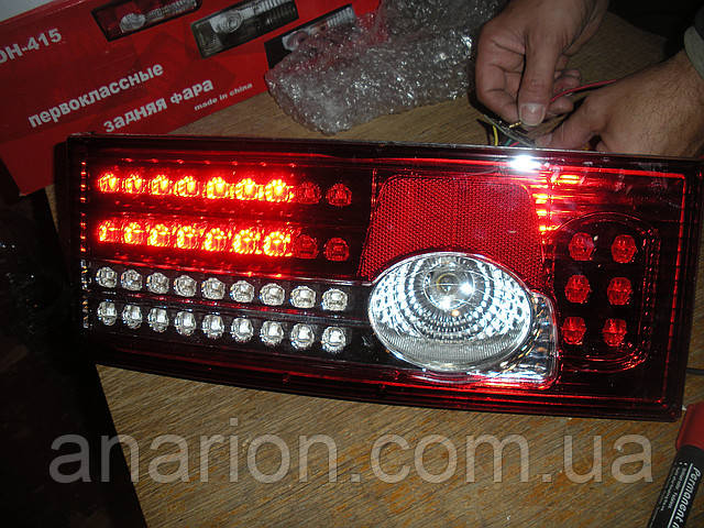 Задние фонари на ВАЗ 2109  Освар-красный (диодные)