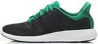 Мужские кроссовки Adidas Pure Boost Chill Black/Green, адидас