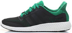 Мужские кроссовки Adidas Pure Boost Chill Black/Green, адидас