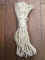 Фал капроновый плетеный (мягкий) - 8мм, 25м, фото 1