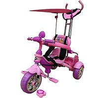 Велосипед 3-х колесный Mars Trike, аниме розовый  (KR01 аніме рожевий)