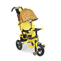 Велосипед трехколесный Mini Trike с надувными колесами Зоо Жираф (777 жираф)