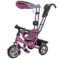 Велосипед трехколесный Mars Mini Trike с надувными колесами Розовый (LT950 air рожевий)