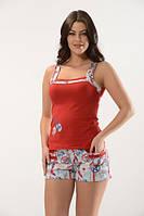 Женская пижама \ костюм для дома майка, шортики Angel's Story 18005